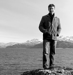 DJ MacLennan by the sea in Skye